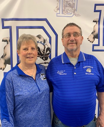 Hall of Fame Inductees Dave & Martha Bidlack (click for Bio)