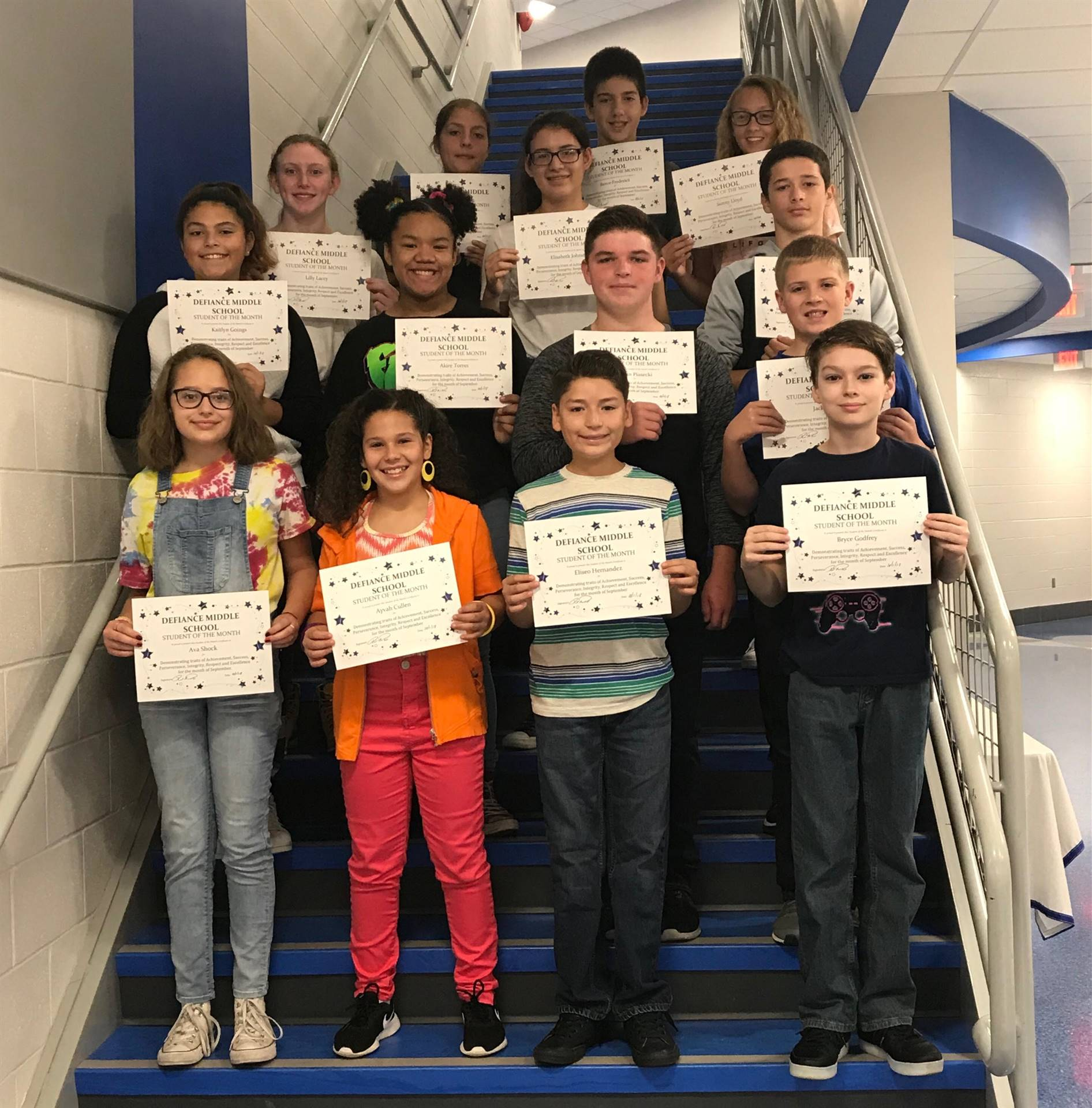 September-Students of the Month