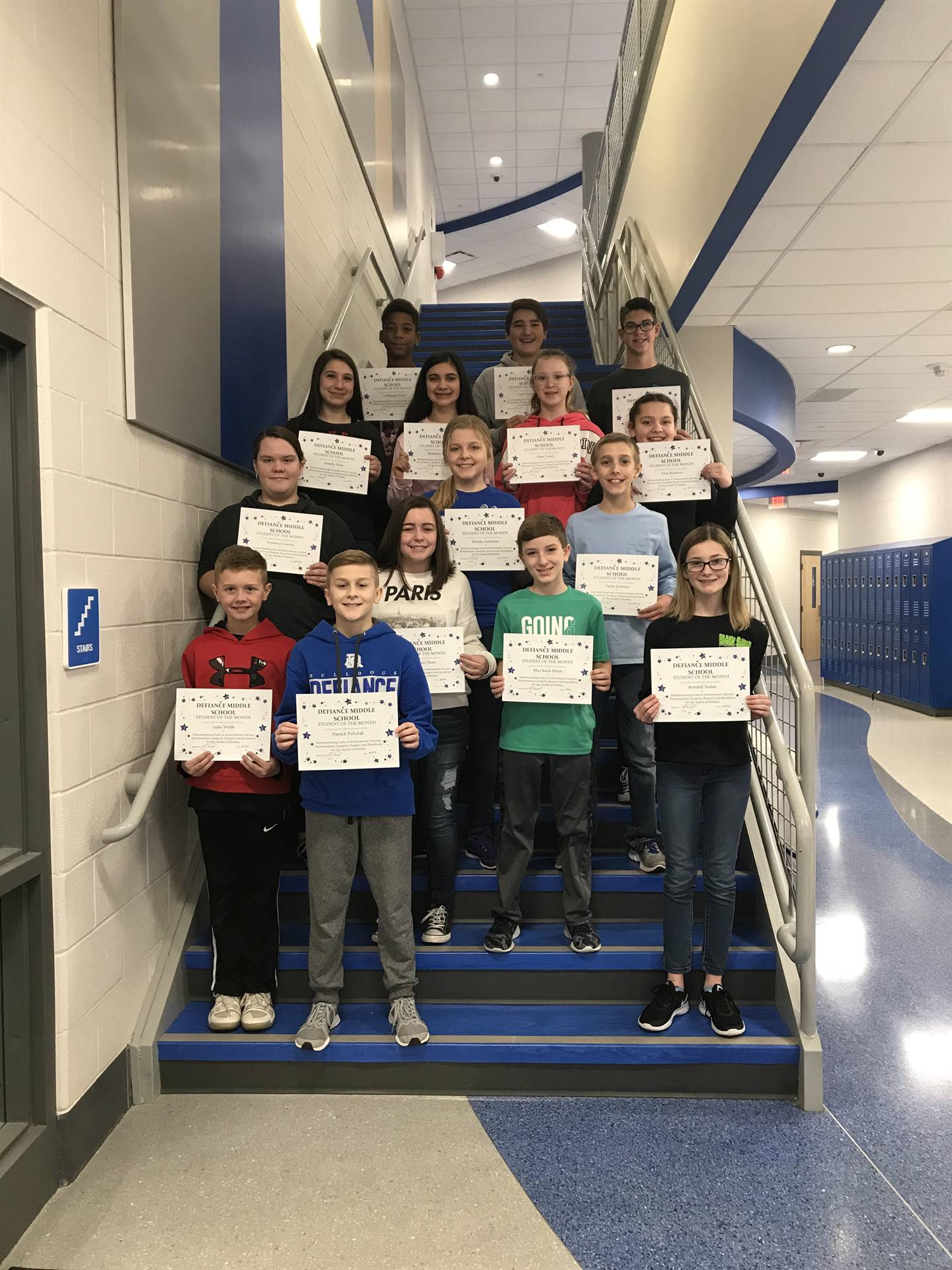 October-Students of the Month