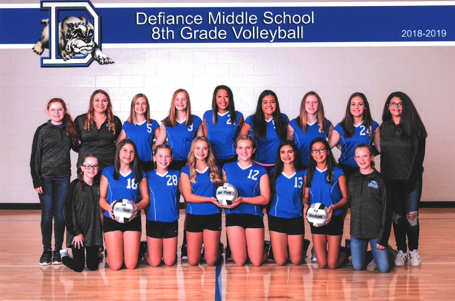 8th Grade Volleyball-2018
