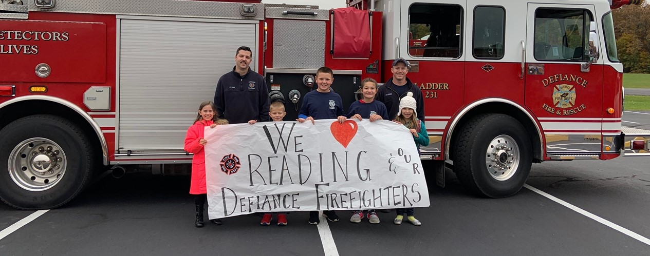 firemen reading group