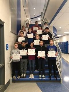 January-Students of the Month