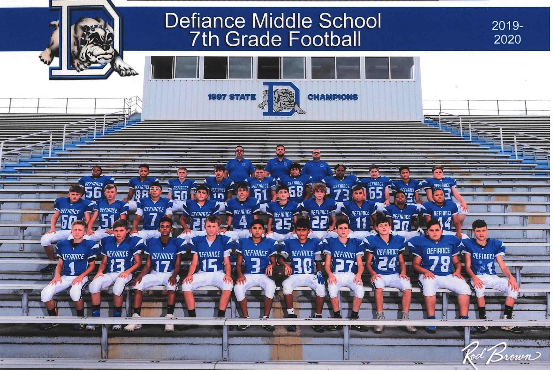 7th Grade Football-2019