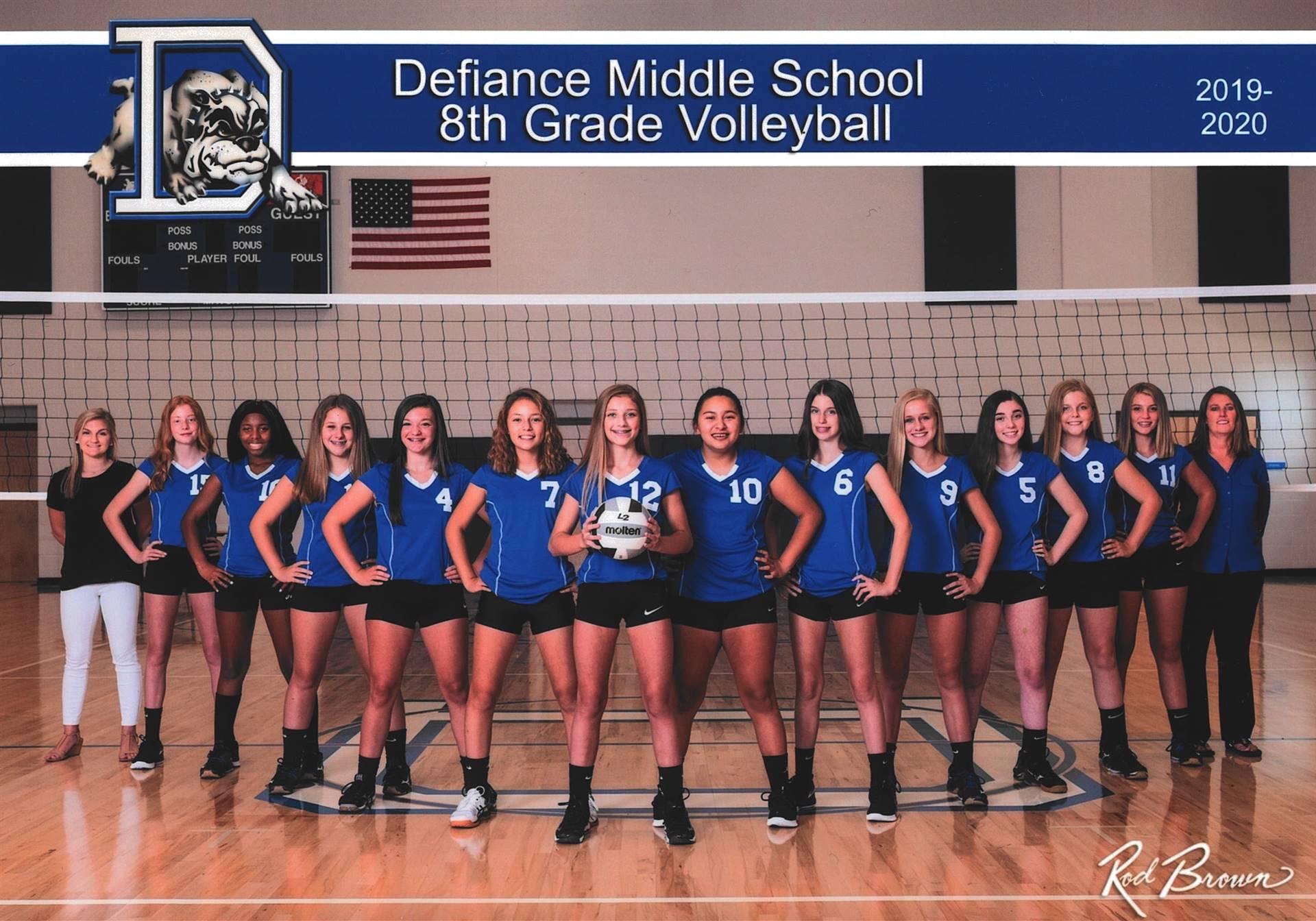 8th Grade Volleyball-2019
