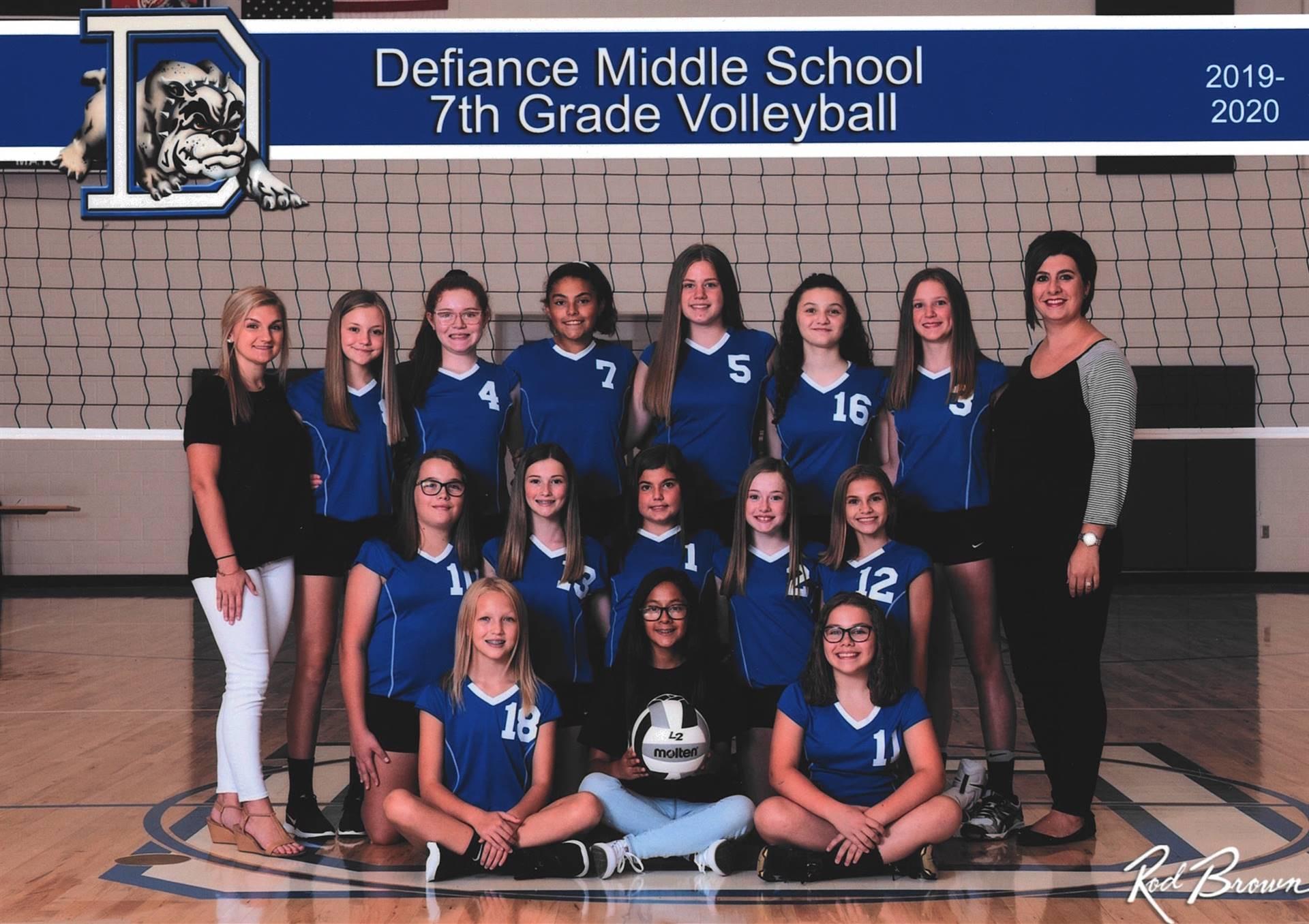 7th Grade Volleyball-2019