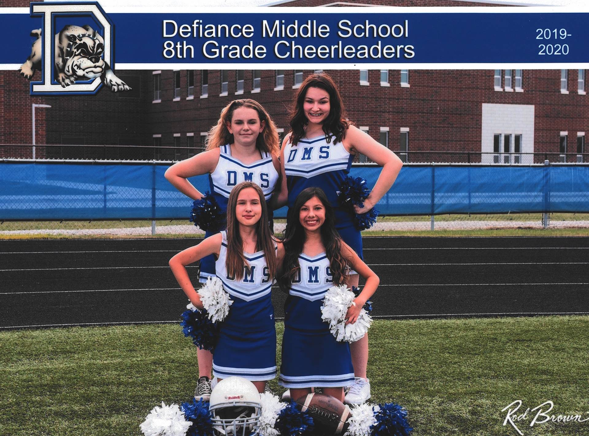 8th Grade Fall Cheerleaders