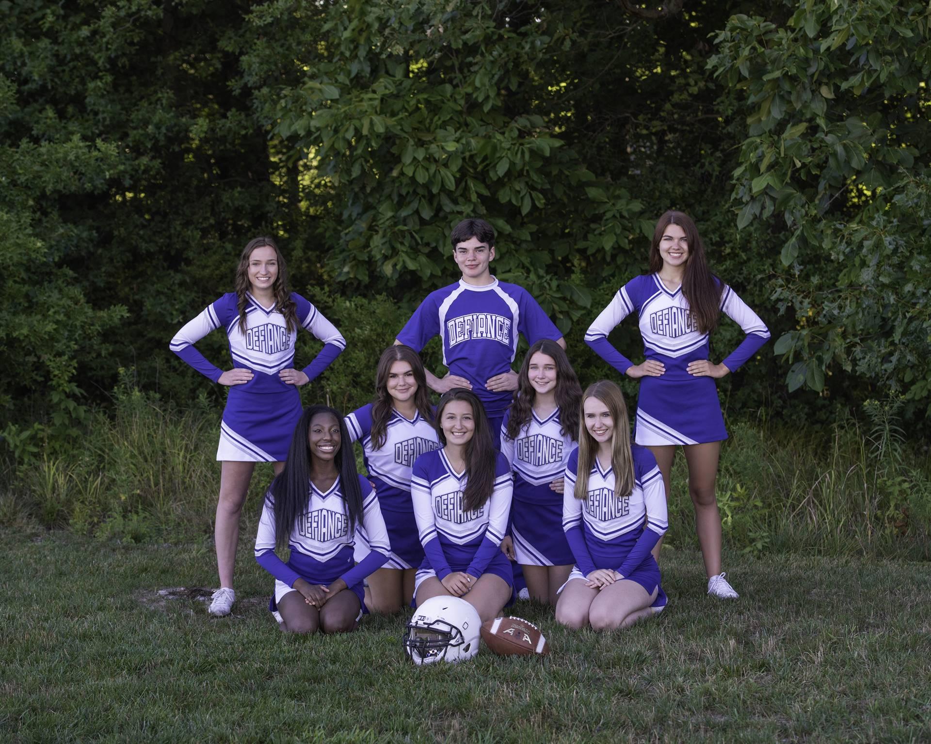Varsity Cheerleaders