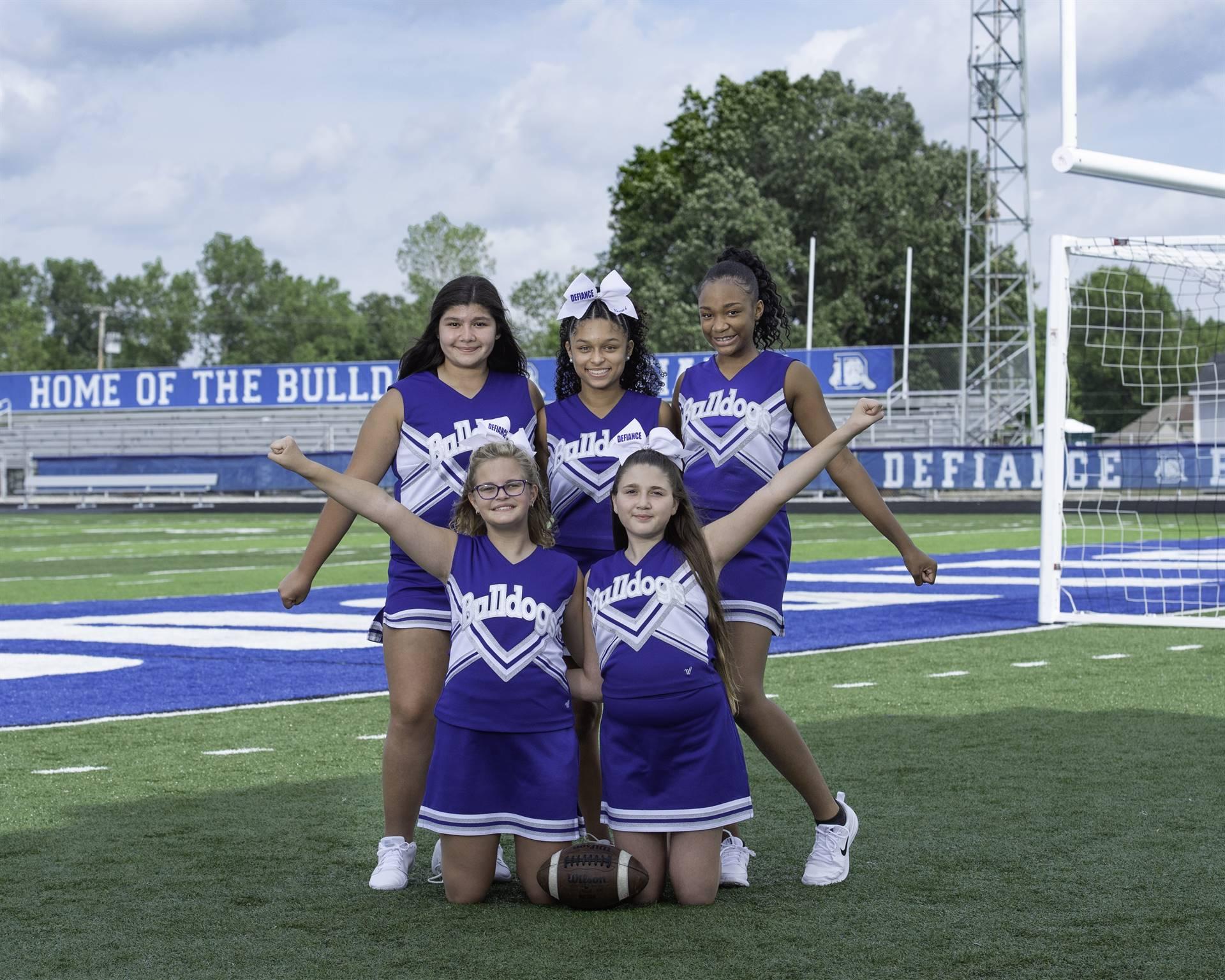 8th Cheerleaders