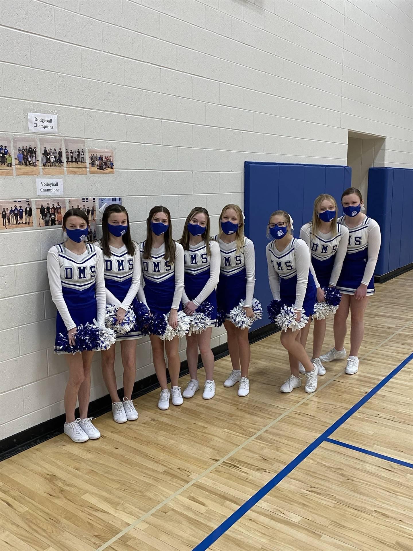 Winter Cheerleaders